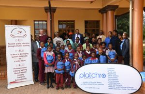 Provest supporting education of Bonwakgogo Primary School at Robega village